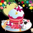 冬ローズケーキ