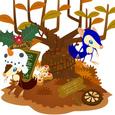 パッシーと収穫の木で 2