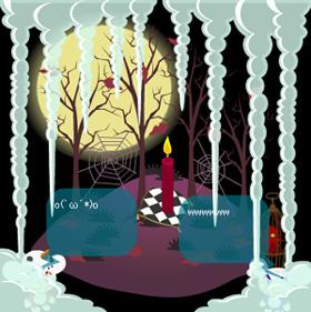 パッシーと枯れ木で 1