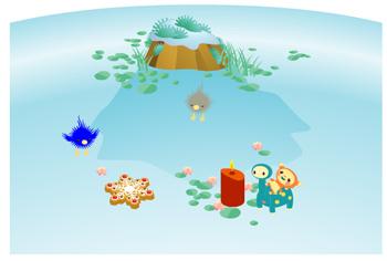 パッシーと浮き草 1