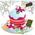 冬のローズケーキ